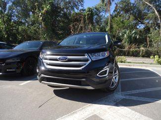 2017 Ford Edge Titanium. PANORAMIC. NAVI. AIR COOLED SEATS SEFFNER, Florida 7