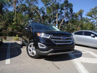 2017 Ford Edge Titanium. PANORAMIC. NAVI. AIR COOLED SEATS SEFFNER, Florida 8