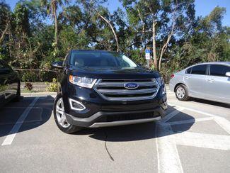 2017 Ford Edge Titanium. PANORAMIC. NAVI. AIR COOLED SEATS SEFFNER, Florida 9