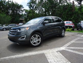 2017 Ford Edge Titanium SEFFNER, Florida 4