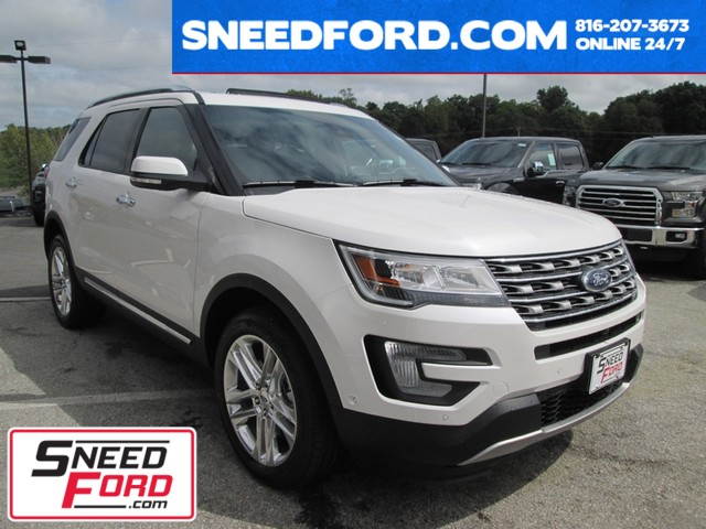 2017 Ford Explorer Limited 4X4 in Gower Missouri