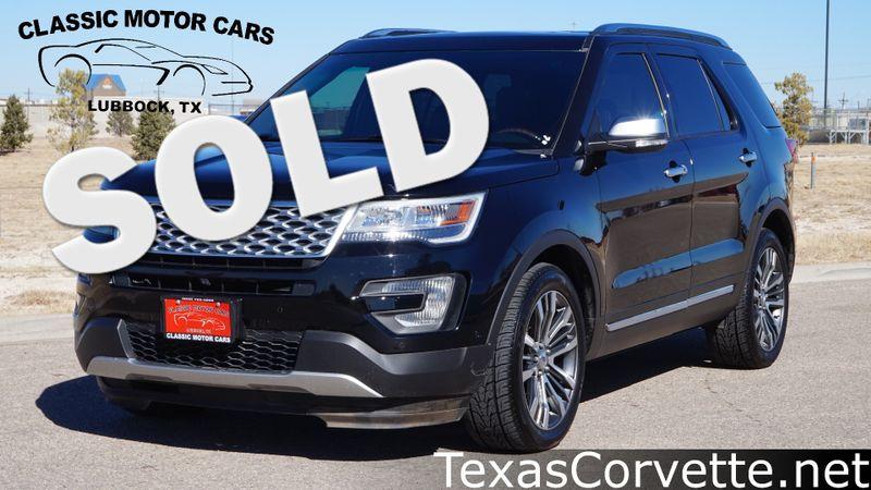 2017 Ford Explorer Platinum | Lubbock, Texas | Classic Motor Cars