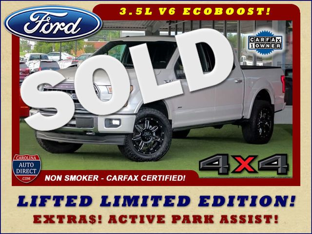 2017 Ford F-150 Limited SuperCrew 4x4 - LIFTED - ACTIVE PARK! Mooresville , NC 0
