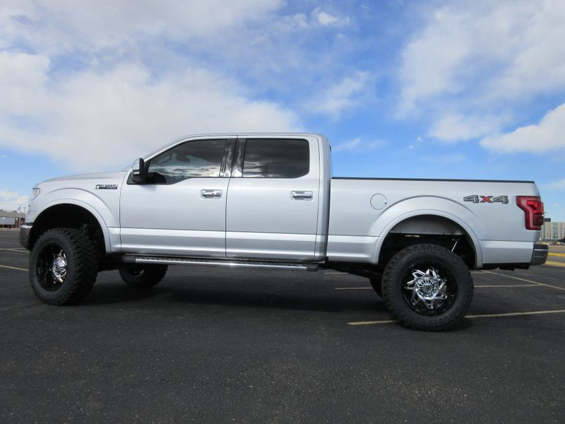 2017 Ford F-150 Supercrew Lariat 4X4 w 6 lift kit  Fultons Used Cars Inc  in , Colorado