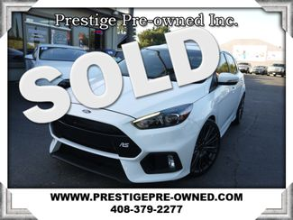 2017 Ford Focus RS ((**UNDER FACTORY WARRANTY**))  in Campbell CA