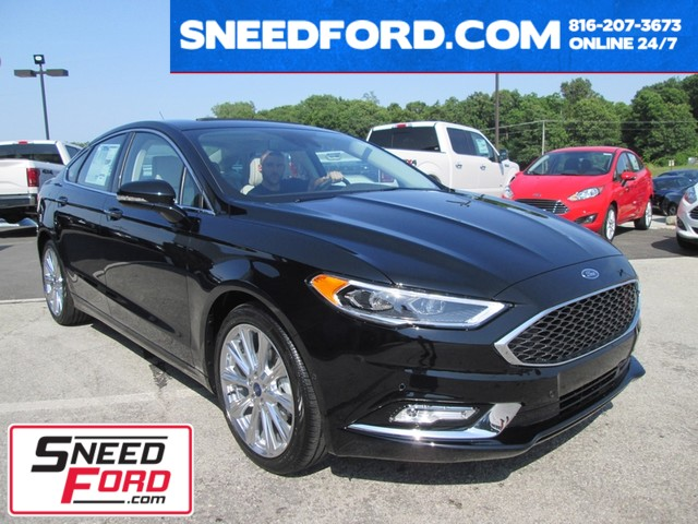 2017 Ford Fusion Platinum AWD in Gower Missouri