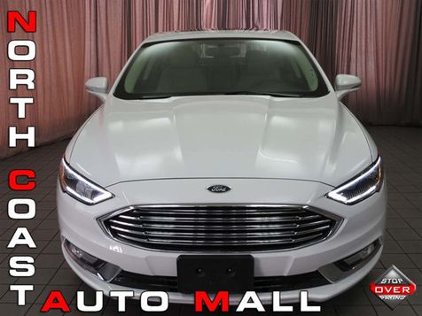 2017 Ford Fusion Hybrid Titanium in Akron, OH