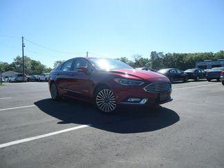 2017 Ford Fusion Hybrid Titanium SEFFNER, Florida 7