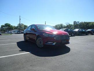2017 Ford Fusion Hybrid Titanium SEFFNER, Florida 8