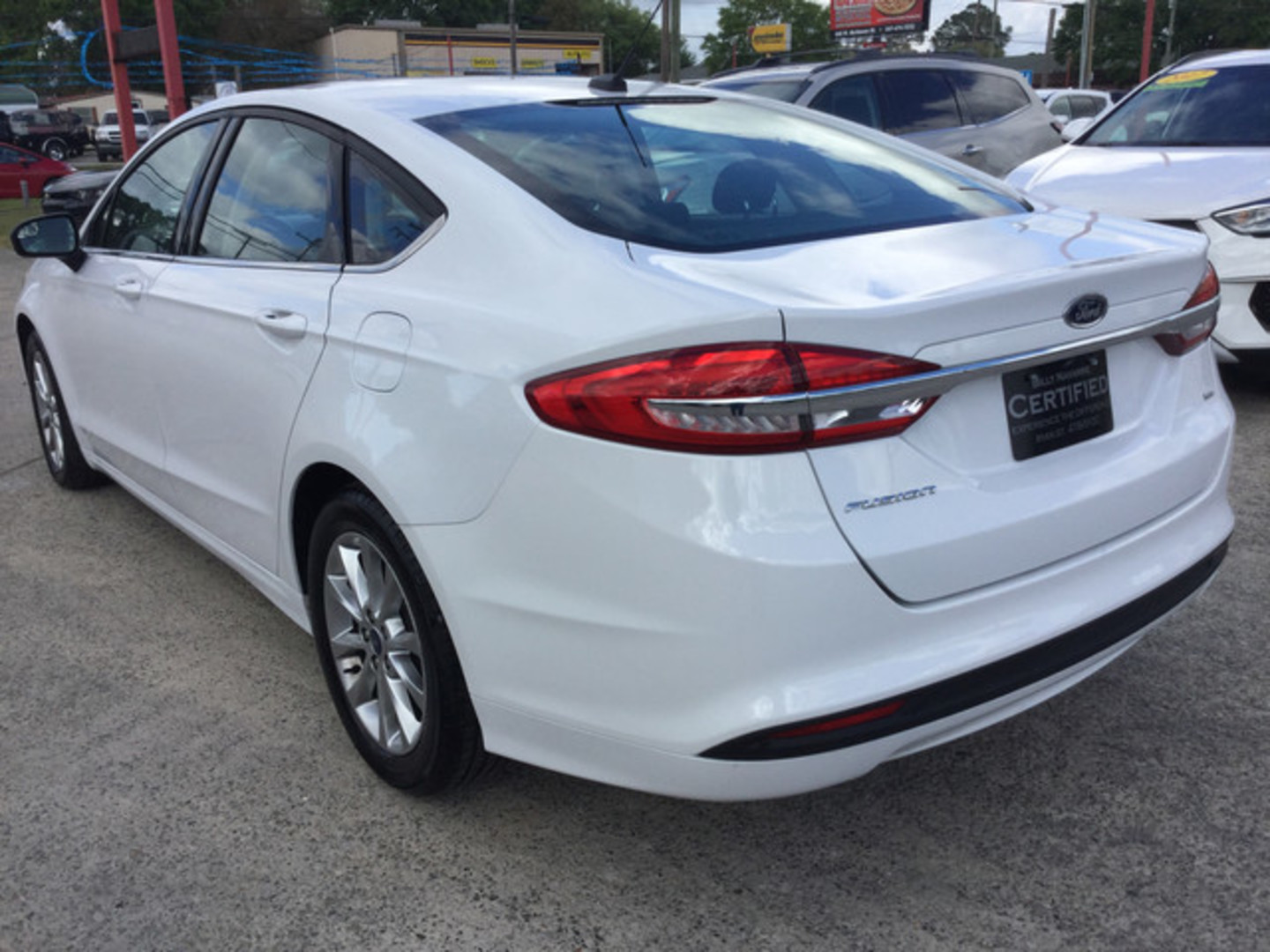 2017 ford fusion se city louisiana billy navarre certified. Black Bedroom Furniture Sets. Home Design Ideas