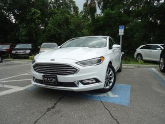 2017 Ford Fusion SE LUXURY. LEATHER. HTD SEATS. PUSH START SEFFNER, Florida