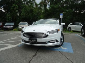 2017 Ford Fusion SE LUXURY. LEATHER. HTD SEATS. PUSH START SEFFNER, Florida 5