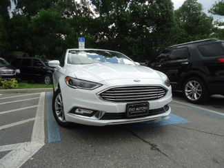2017 Ford Fusion SE LUXURY. LEATHER. HTD SEATS. PUSH START SEFFNER, Florida 7