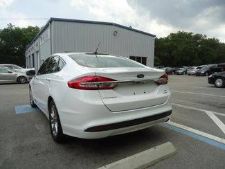 2017 Ford Fusion SE LUXURY. LEATHER. HTD SEATS. PUSH START SEFFNER, Florida 8