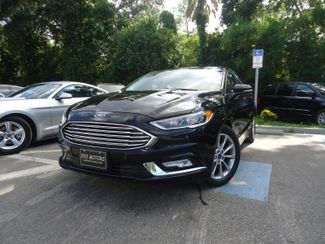 2017 Ford Fusion SE LUXURY. LEATHER. HTD SEATS. CAMERA SEFFNER, Florida 4