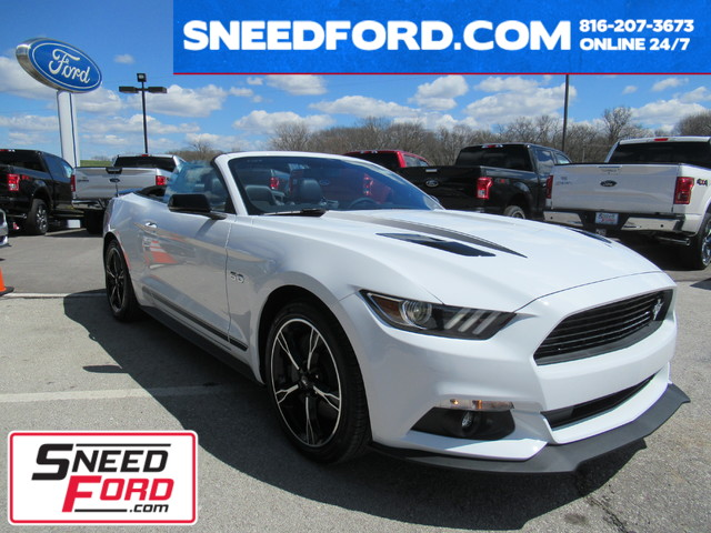 2017 Ford Mustang GT Premium California Special Convertible in Gower Missouri