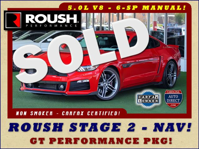 2017 Ford Mustang GT Premium - ROUSH STAGE 2 - NAV! Mooresville , NC 0