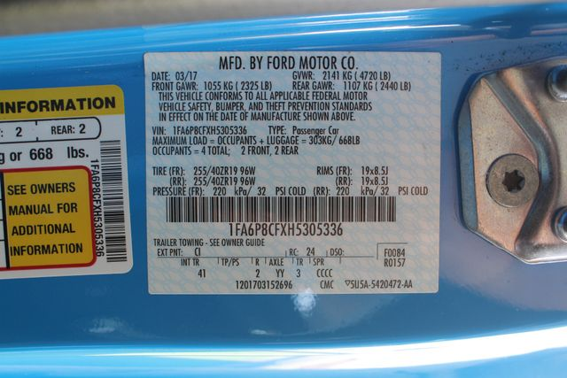 2017 Ford Mustang GT Premium - NAVIGATION - BLACK ACCENT PKG! Mooresville , NC 47