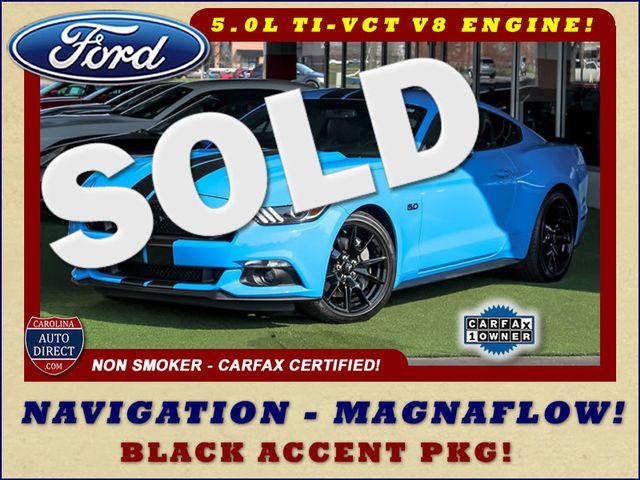 2017 Ford Mustang GT Premium - NAVIGATION - BLACK ACCENT PKG! Mooresville , NC 0