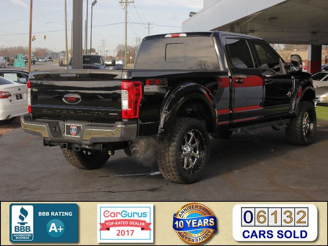 2017 Ford Super Duty F-250 Pickup Lariat Crew Cab 4x4 FX4 - LIFTED - $7K EXTRA$! Mooresville , NC 2