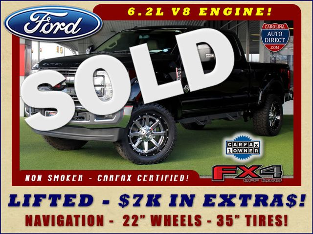 2017 Ford Super Duty F-250 Pickup Lariat Crew Cab 4x4 FX4 - LIFTED - $7K EXTRA$! Mooresville , NC 0
