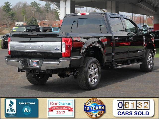 2017 Ford Super Duty F-250 Pickup King Ranch Crew Cab 4x4 FX4-ULTIMATE TOW CAMERAS! Mooresville , NC 2