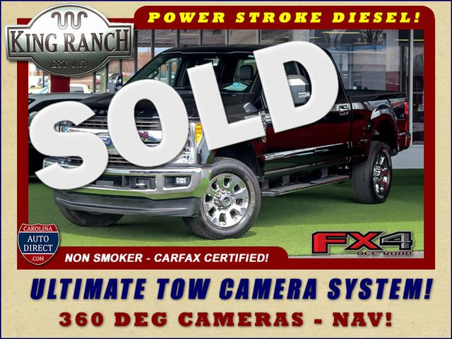 2017 Ford Super Duty F-250 Pickup King Ranch Crew Cab 4x4 FX4-ULTIMATE TOW CAMERAS! Mooresville , NC 0