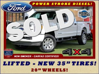 "2017 Ford Super Duty F-250 Pickup Crew Cab 4x4 - LIFTED - 35"" TIRES! Mooresville , NC"