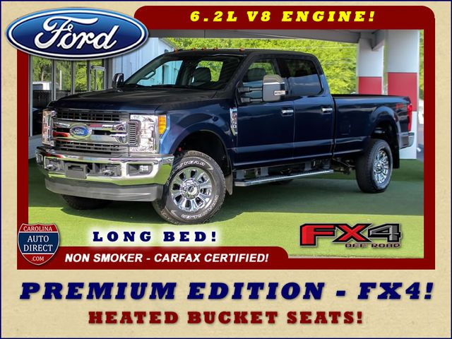 2017 Ford Super Duty F-250 Pickup XLT PREMIUM EDITION Crew Cab Long Bed 4x4 FX4 Mooresville , NC 0