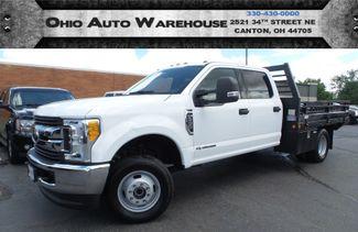 2017 Ford Super Duty F-350 DRW XLT 4x4 Crew PowerStroke Diesel Utility Flat Bed | Canton, Ohio | Ohio Auto Warehouse LLC in  Ohio
