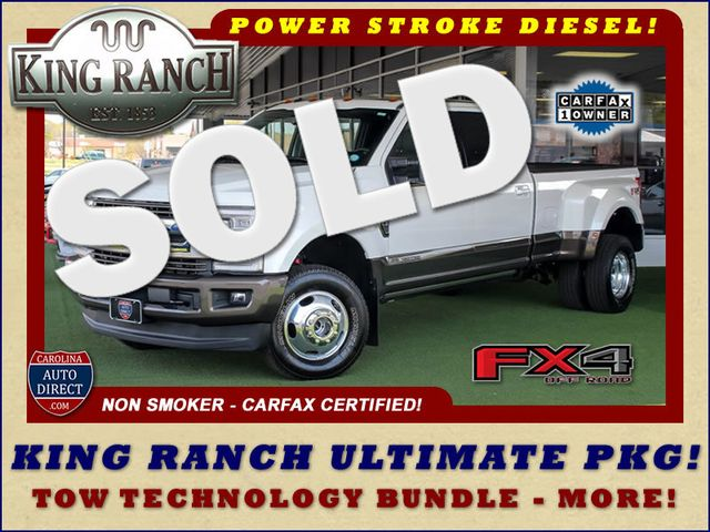 2017 Ford Super Duty F-350 DRW Pickup King Ranch Ultimate Crew Cab 4x4 FX4 - TOW TECH! Mooresville , NC 0
