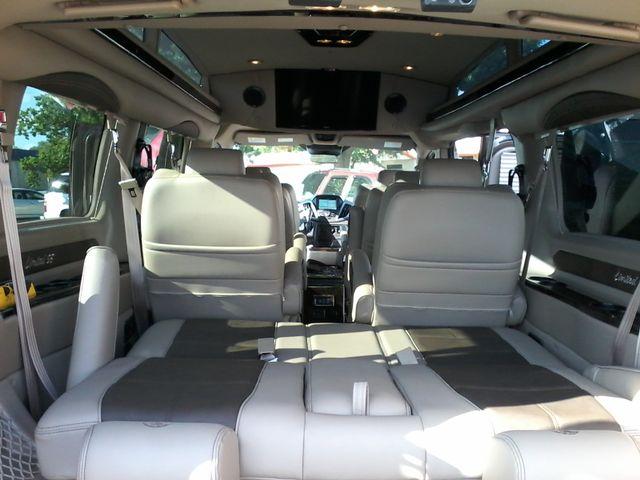 2017 Ford  Transit 150 Explorer Limited SE Conversion 9 passenger w/folding bed San Antonio, Texas 14