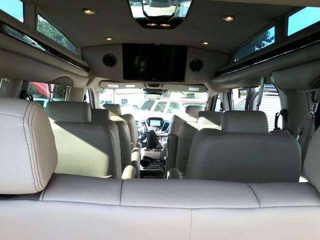 2017 Ford  Transit 150 Explorer Limited SE Conversion 9 passenger w/folding bed San Antonio, Texas 15