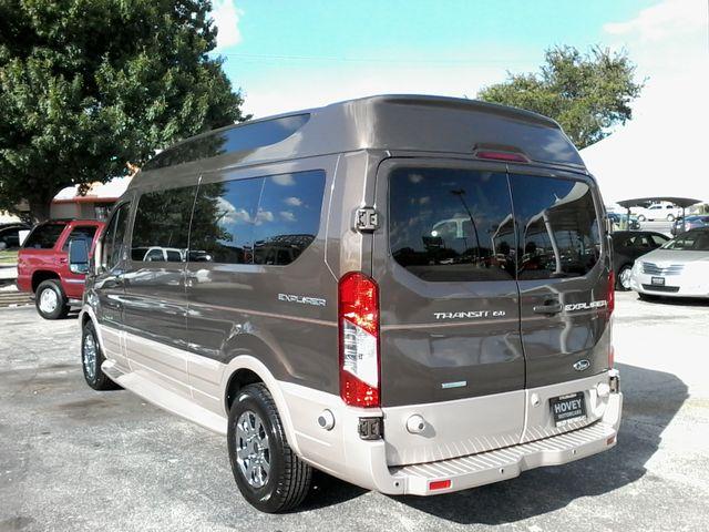 2017 Ford  Transit 150 Explorer Limited SE Conversion 9 passenger w/folding bed San Antonio, Texas 7