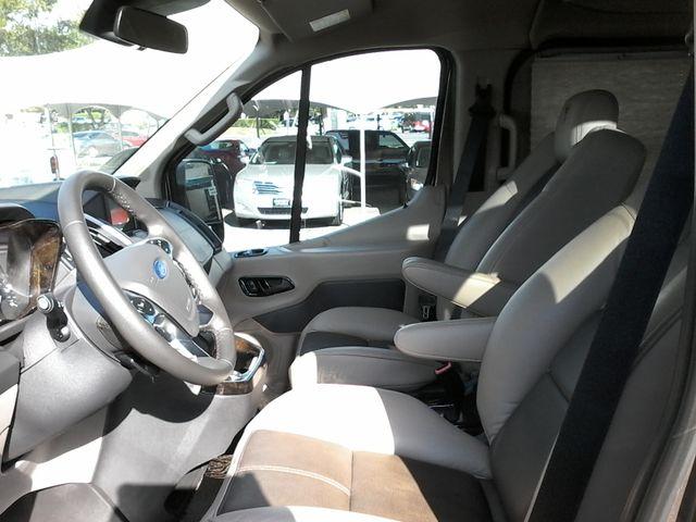 2017 Ford  Transit 150 Explorer Limited SE Conversion 9 passenger w/folding bed San Antonio, Texas 11