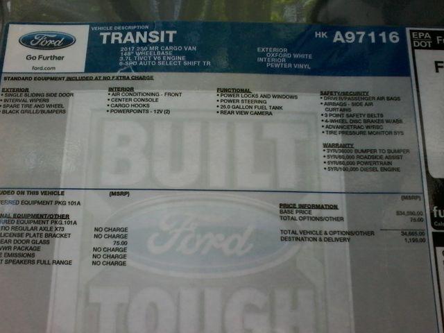 2017 Ford Transit Van 250  cargo van San Antonio, Texas 17