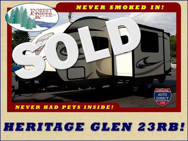 2017 Forest River Wildwood Heritage Glen 23RB Mooresville , NC 0