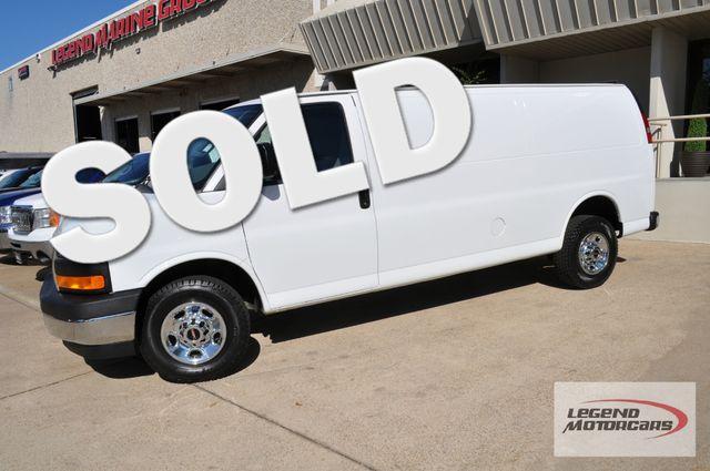 2017 GMC Savana Cargo Van Extended 2500