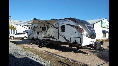 2018 Heartland NORTH TRAIL 33BUDS CALIBER EDITION TWO BATHS W/ BUNKS!!! in Moncks Corner, SC