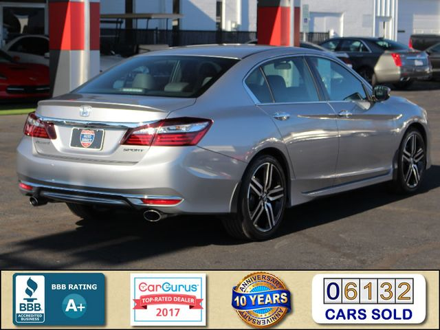 2017 Honda Accord Sport Edition FWD - ONE OWNER! Mooresville , NC 2