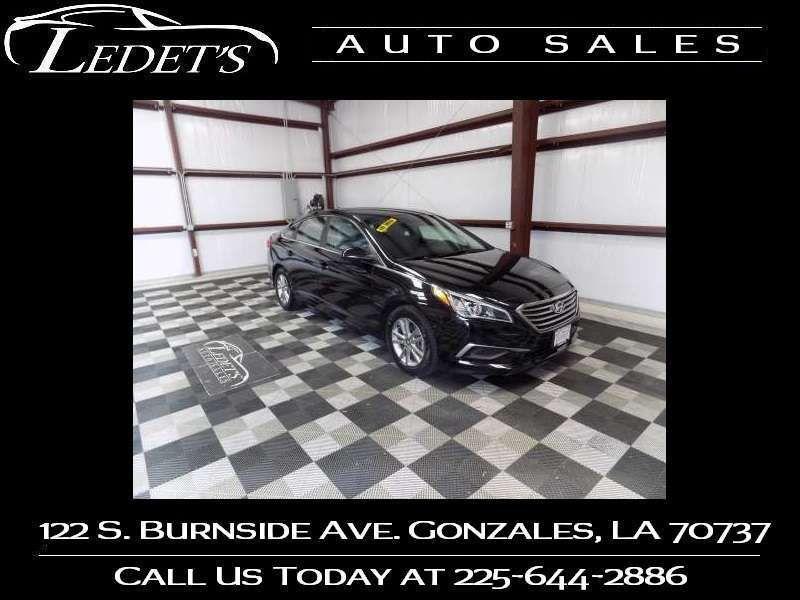 2017 Hyundai Sonata 2.4L - Ledet's Auto Sales Gonzales_state_zip in Gonzales Louisiana