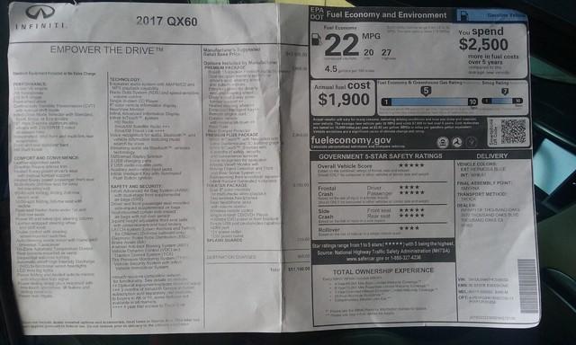 2017 Infiniti QX60 Burbank, CA 11