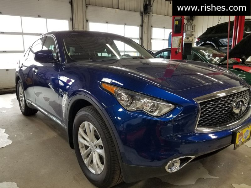 2017 Infiniti QX70 AWD Bose,Heated Seats,Rear Camera | Rishe's Import Center in Ogdensburg New York