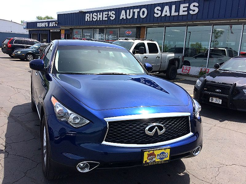 2017 Infiniti QX70 AWD Heated Seats,Rear Camera,Only 9026 miles!  | Rishe's Import Center in Ogdensburg New York