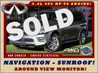 2017 Infiniti QX80 AWD - NAV - SUNROOF - AROUND VIEW! Mooresville , NC