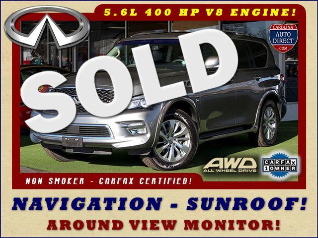 2017 Infiniti QX80 AWD - NAV - SUNROOF - AROUND VIEW! Mooresville , NC 0