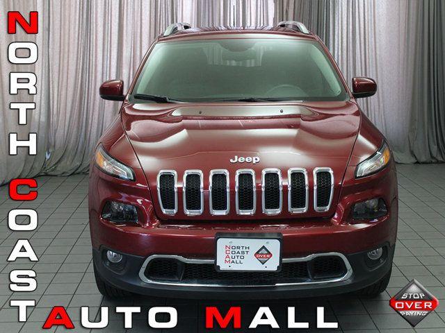 Used 2017 Jeep Cherokee, $20493