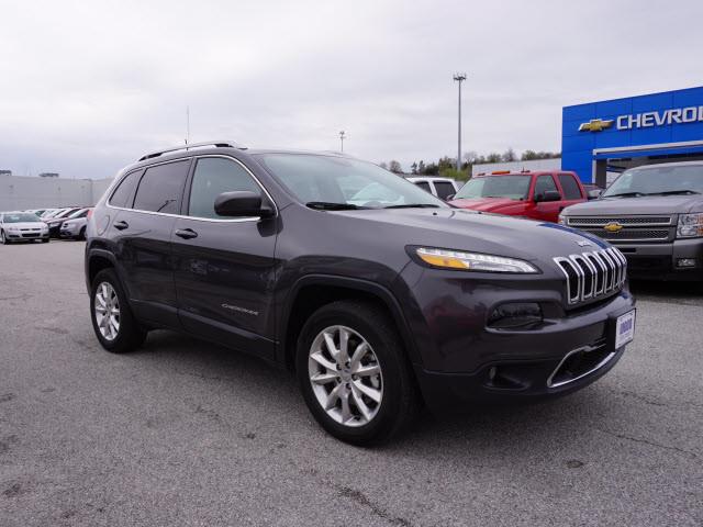 2017 Jeep Cherokee Limited Harrison, Arkansas 3