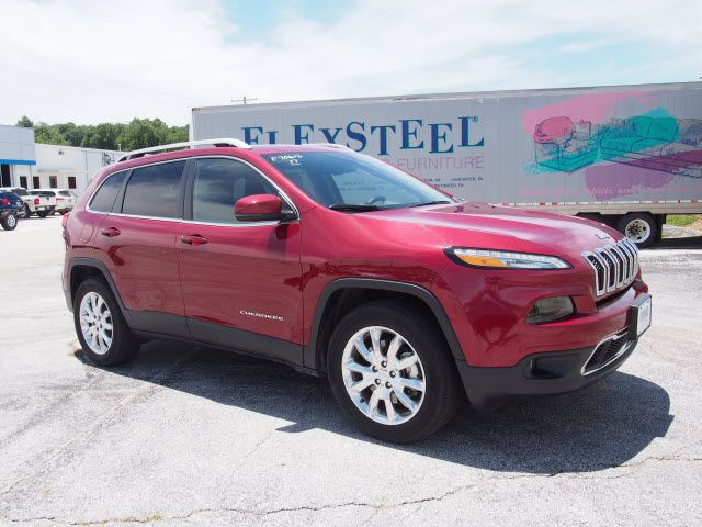 2017 Jeep Cherokee Limited Harrison, Arkansas 5