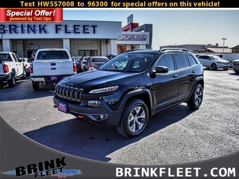 2017 Jeep Cherokee Trailhawk | Lubbock, TX | Brink Fleet in Lubbock TX